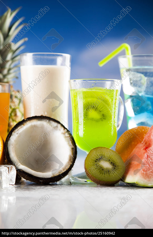 exotic, summer, drinks - 25160942