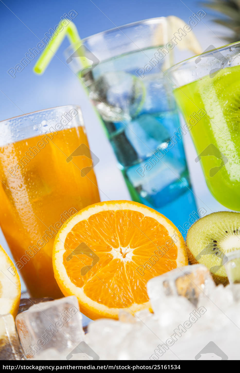 fresh, tropical, fruits, , summer, drink, and - 25161534