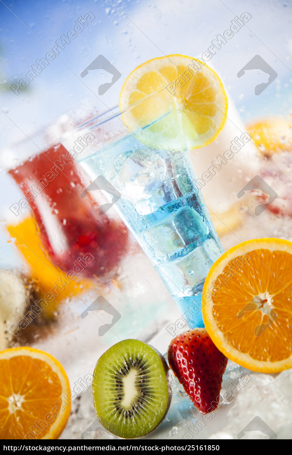 fresh, tropical, fruits, , summer, drink, and - 25161850