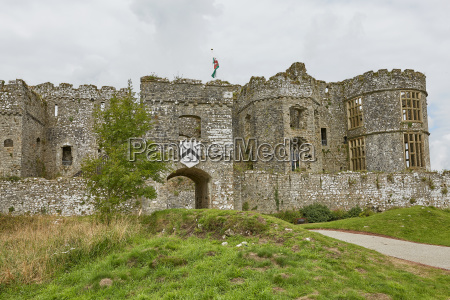 carew castle in pembrokeshire wales england