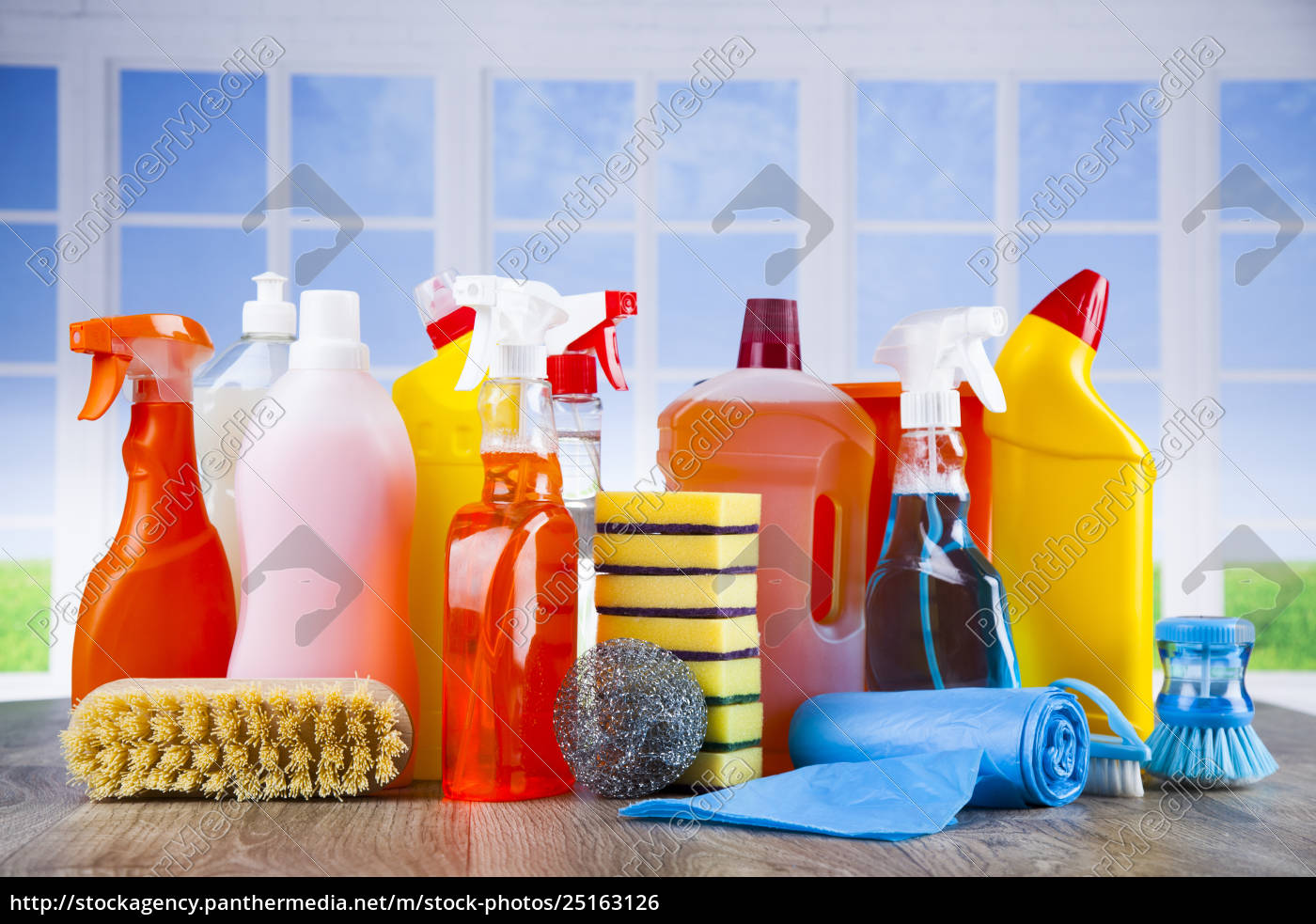 cleaning, and, window, background - 25163126
