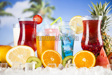 exotic, summer, drinks - 25163116