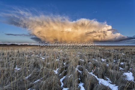 kornfeld storm cloud spiekeroog island ostfriesland