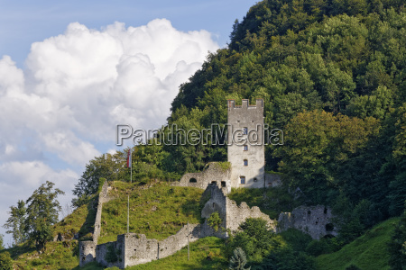 castle ruin falkenstein flintsbach am inn