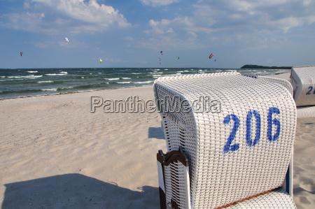 baltic sea beach on ruegen