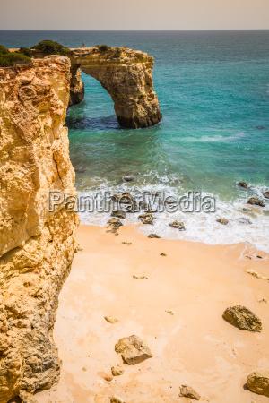 praia de albandeira beautiful coast and