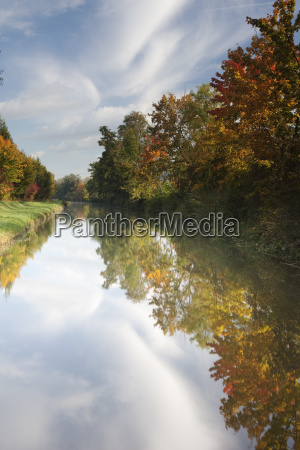 ludwig danube main canal at berching