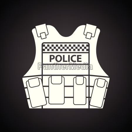 police vest icon