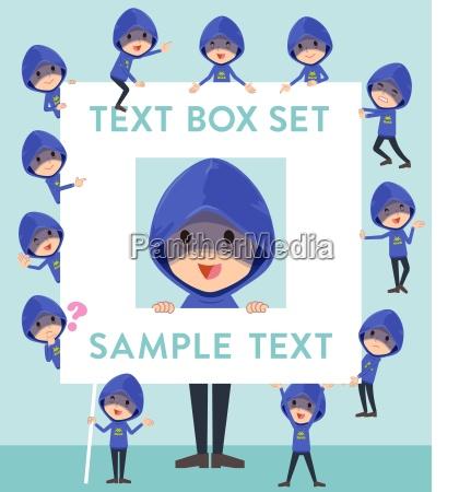 blue parker hacker mentext box