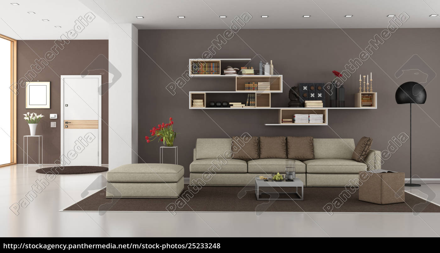 living, room, of, a, modern, house - 25233248