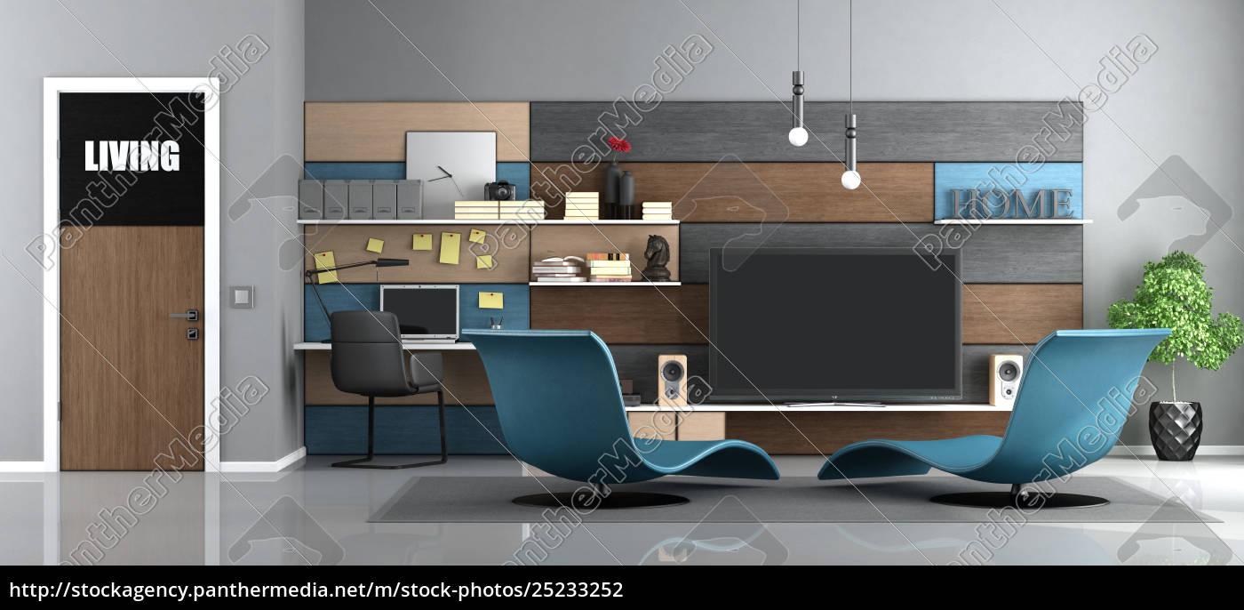 modern, living, room - 25233252