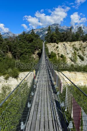 bucolic mountains bridge europe switzerland bridges