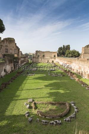 historical antique rome roma capital ruin