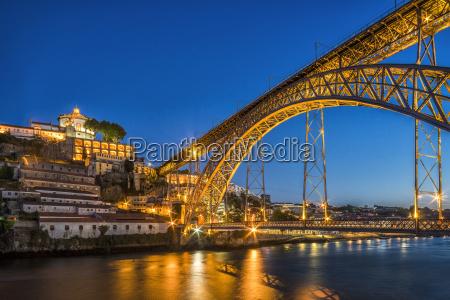 steel bridge by gustave eiffel connecting