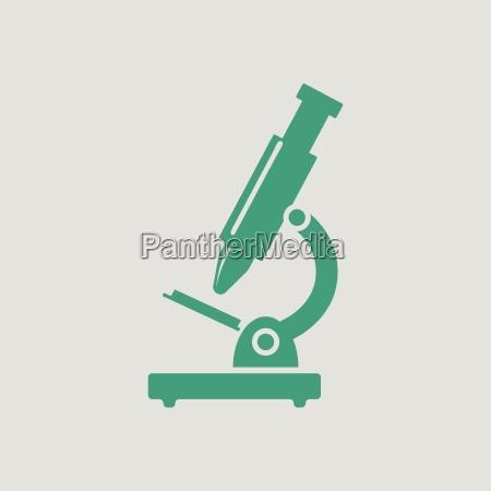 school microscope icon