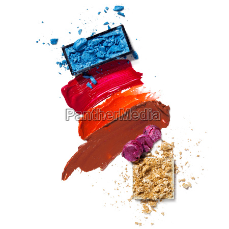 cosmetic swatch