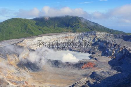 poas volcano poas national park costa
