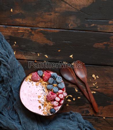 wild, berries, smoothie, bowls - 25276792