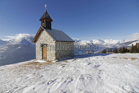 religion church bucolic national park alps