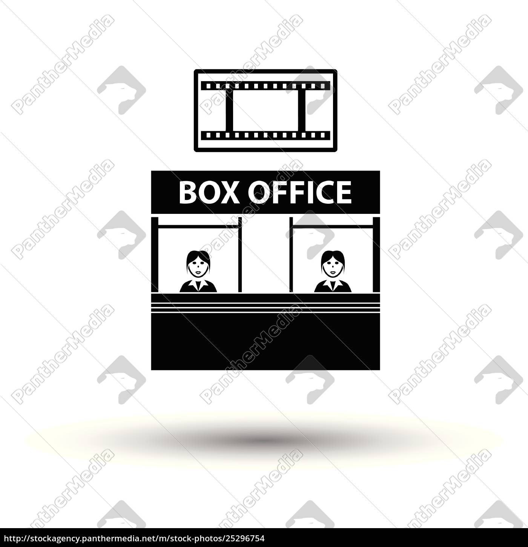 box, office, icon - 25296754
