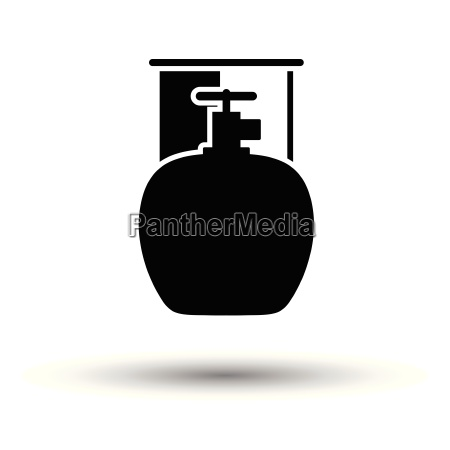camping, gas, container, icon - 25299922