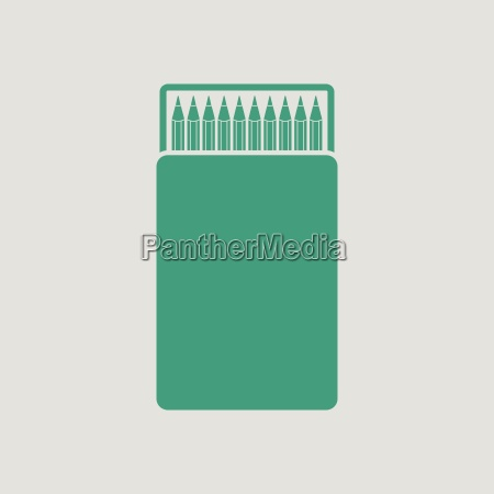 pencil box icon