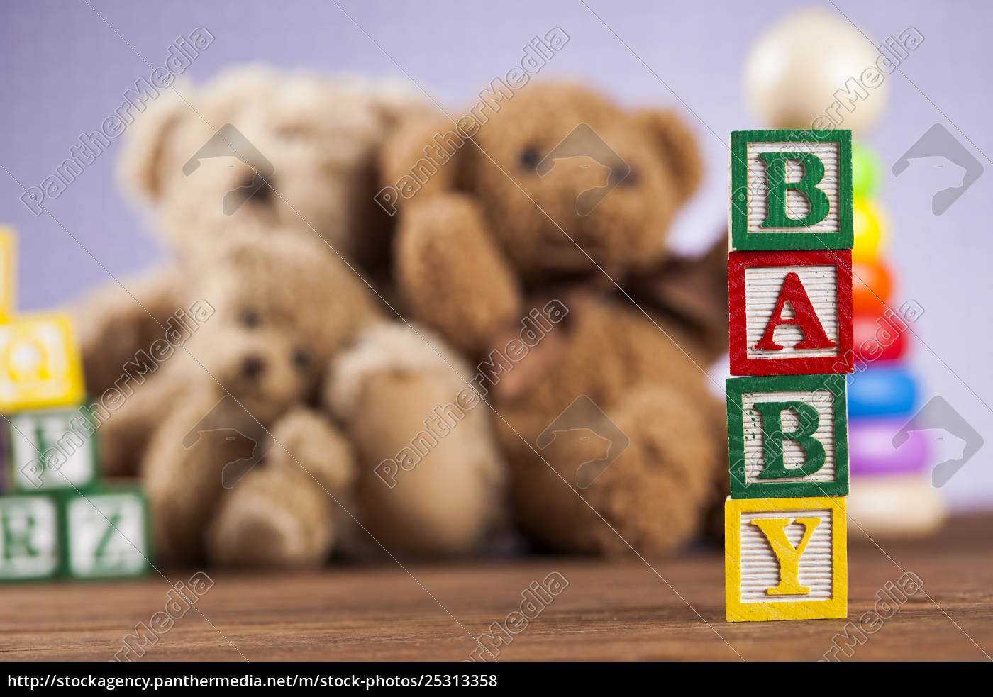 baby, block, , toys, collection, on, colorful - 25313358