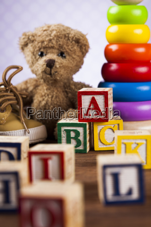 baby, world, toy, collection, on, on - 25313278