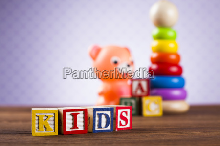 kids, world, toy, on, a, wooden - 25313724