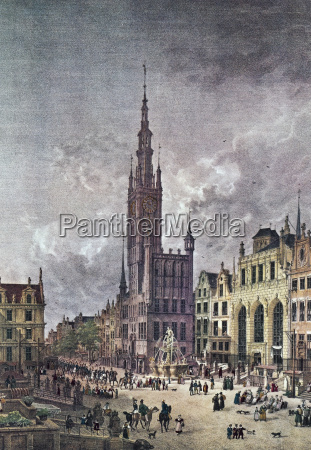 historical church city town art sights