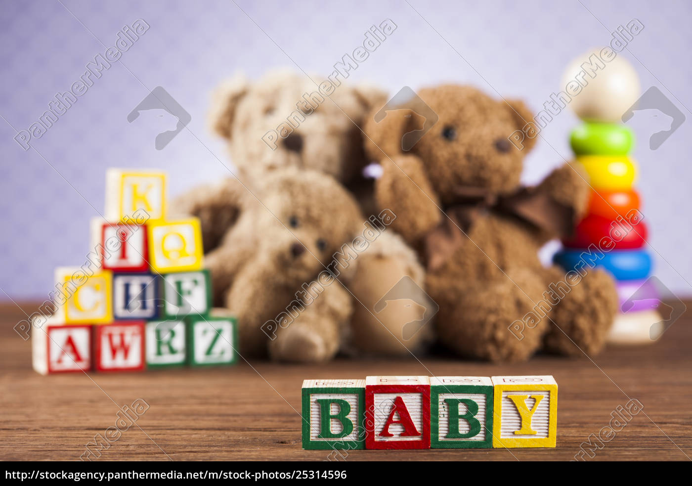 baby, block, , toys, collection, on, colorful - 25314596