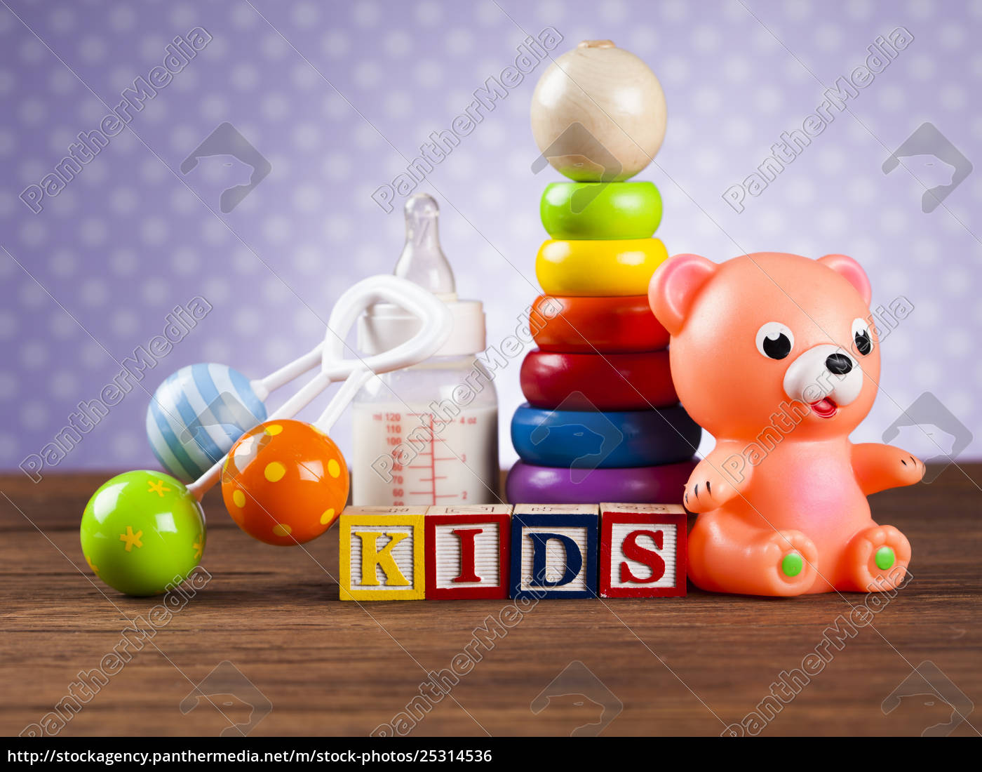kids, world, toy, on, a, wooden - 25314536