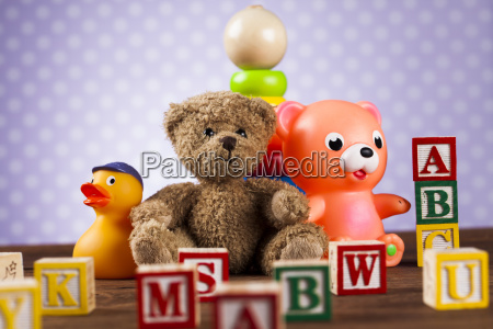 baby, world, toy, collection, on, on - 25319148