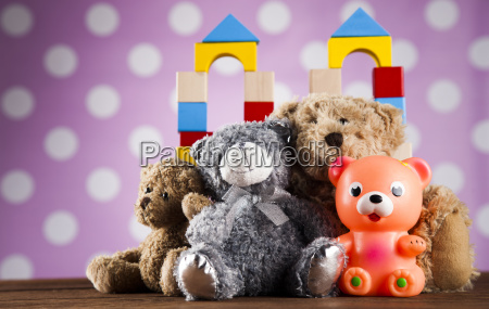 colorful, alphabet, blocks, , baby, toy - 25327418