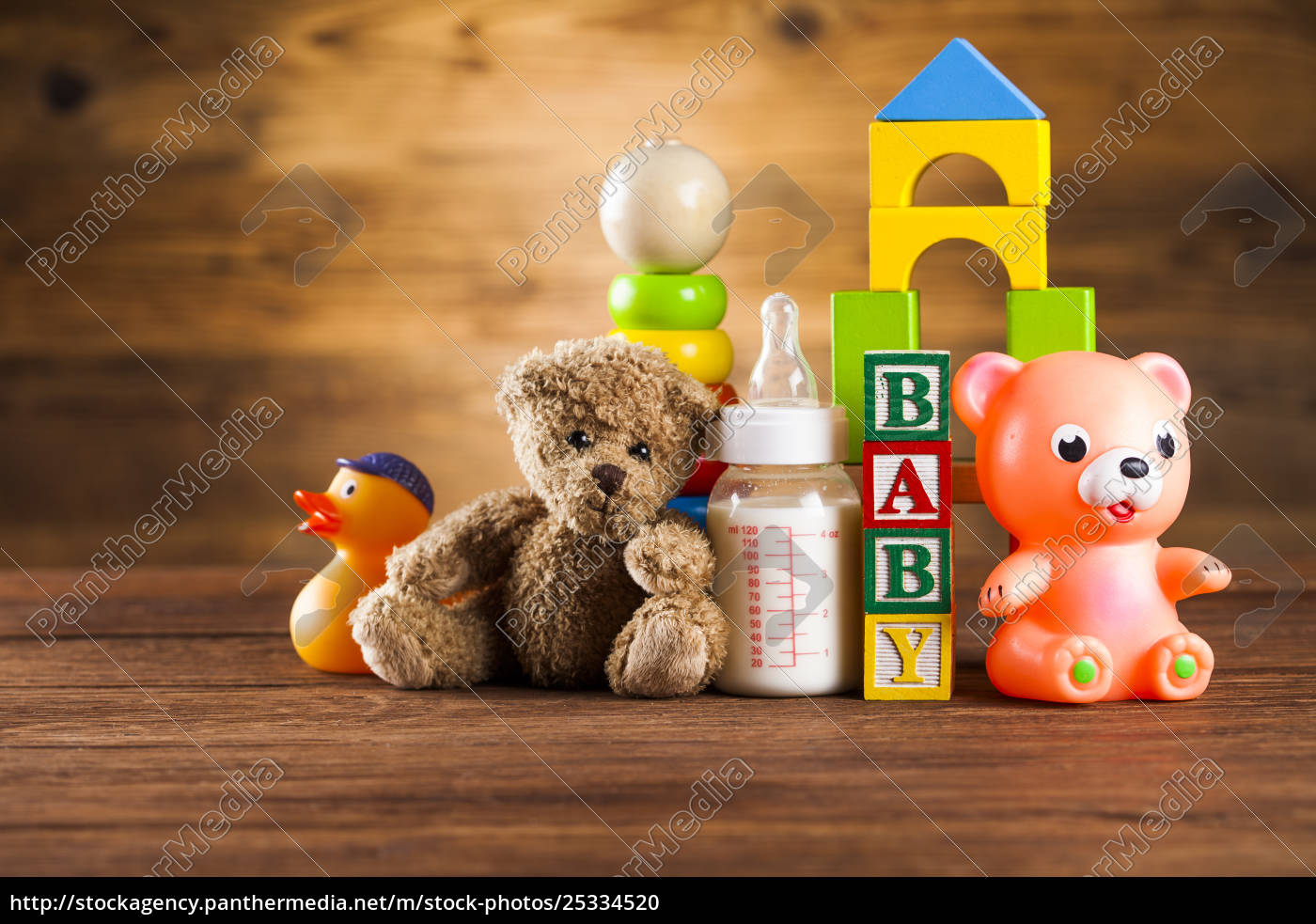 baby, block, , toys, collection, on, colorful - 25334520