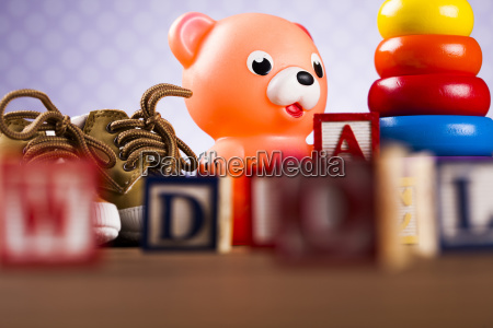 baby, world, toy, collection, on, on - 25334714