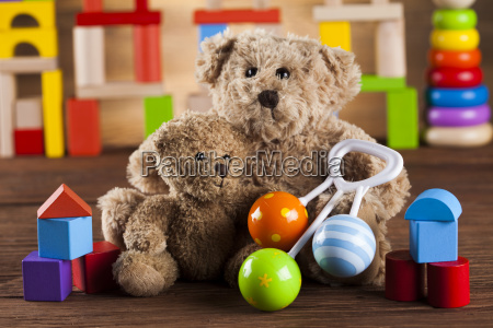 baby, world, toy, collection, on, on - 25334736