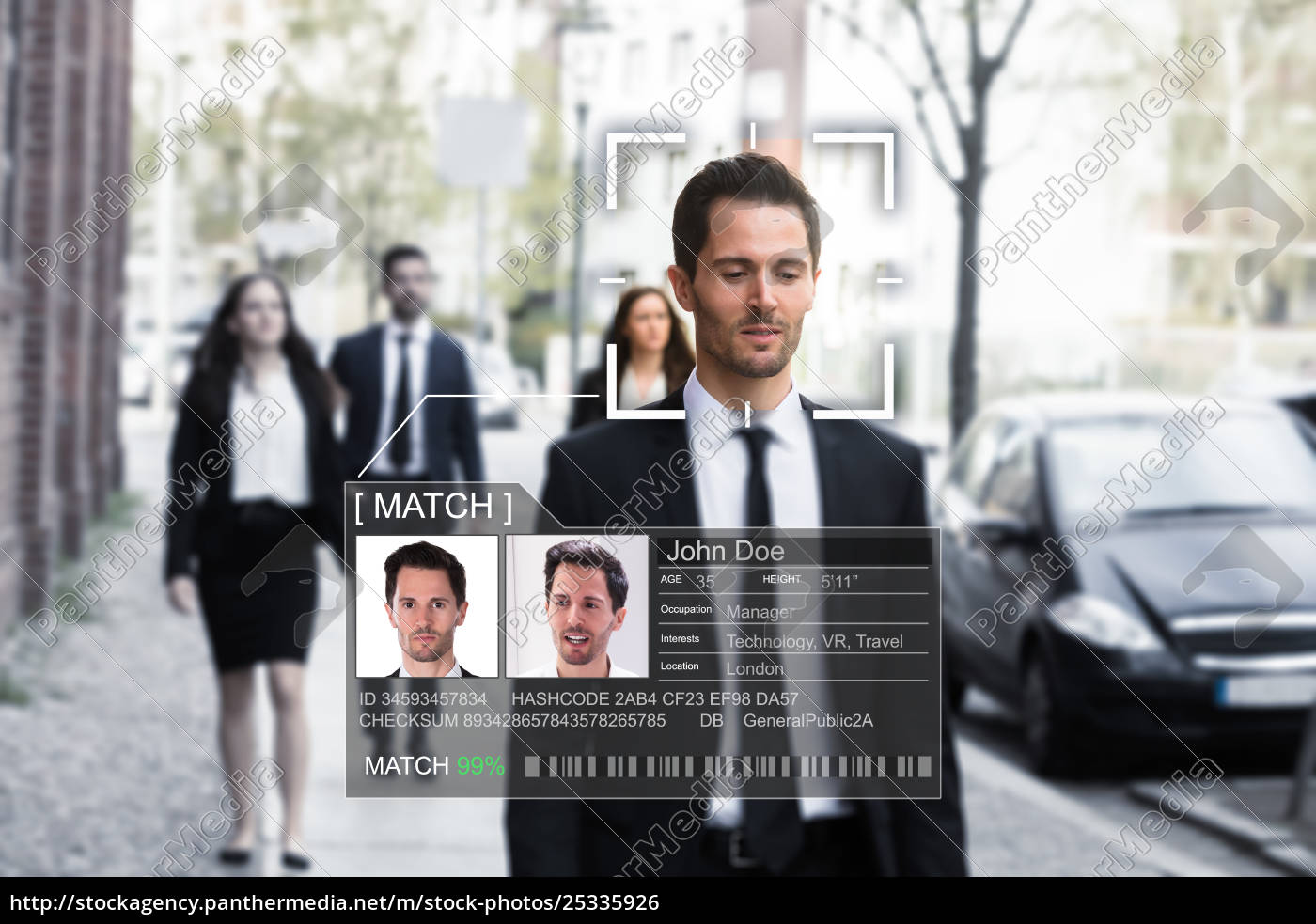 businessman's, face, recognized, accurately, with, ai - 25335926