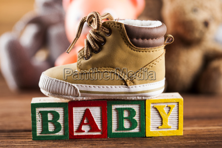 baby, block, , toys, collection, on, colorful - 25337032