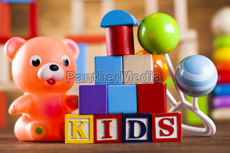 colorful, alphabet, blocks, , baby, toy - 25337238