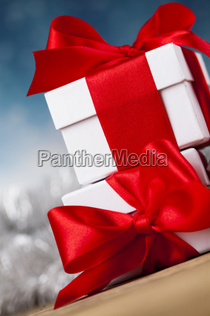 set, of, gift, box, , christmas, background - 25337028