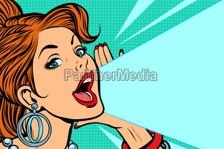 lady, announces, and, promotes - 25339322