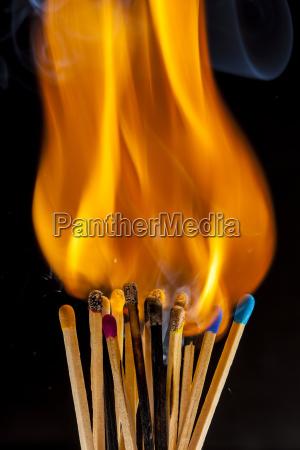 studio photography closeup room heat fire