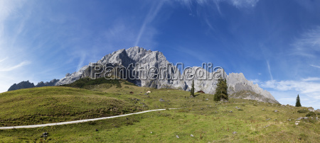 bucolic mountains alps austrians sights europe