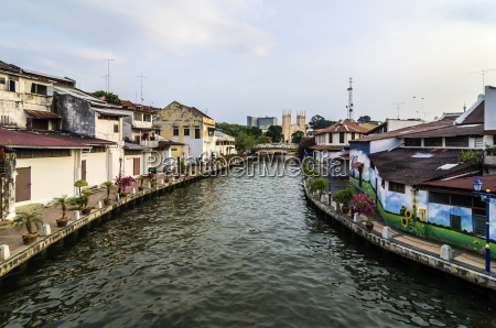 views of malacca in malaysia