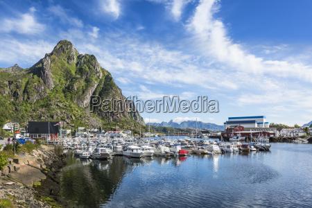 waters europe harbor norway coast deserted