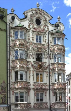 helblinghaus with baroque stucco 1725 herzog