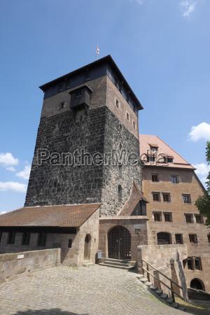 worms eye tower historical europe bavaria