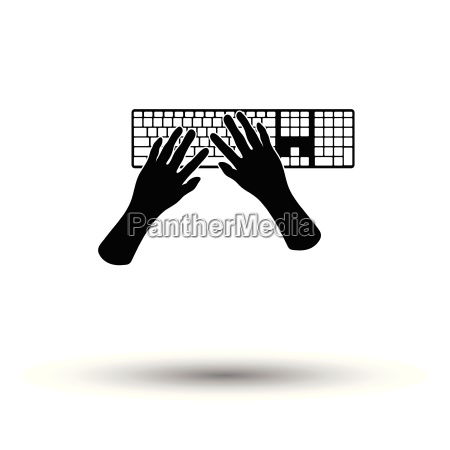 typing icon