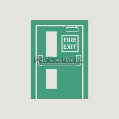 fire exit door icon